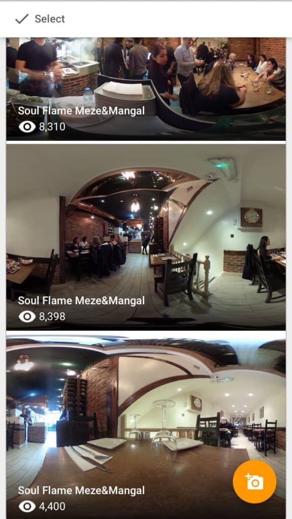 360 photos Google Street View
