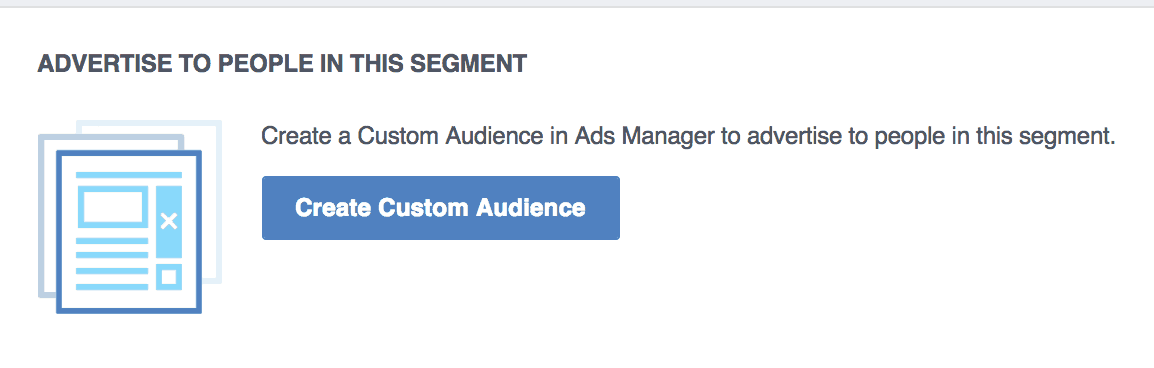 Facebook analytics custom audiences