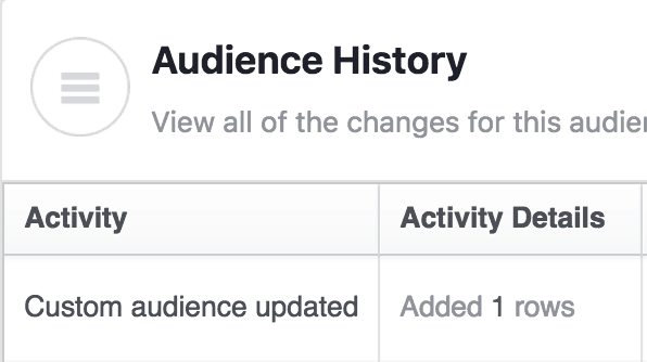 add a user to a facebook custom audience using zapier